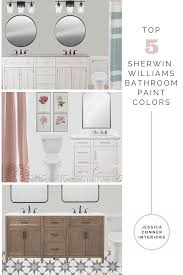 sherwin williams bathroom paint colors