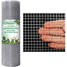 Amagabeli 1 2 Hardware Cloth 36 X 100 19 Gauge Galvanized Welded Wire Metal Mesh Roll Vegetables Garden Rabbit Fencing Snake Fence For Chicken Run Critters Gopher Racoons Opossum Rehab Cage Window Amazon Com