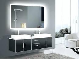 bathroom mirror framed white furniture