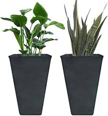 tall planters 26 inch flower pot pack