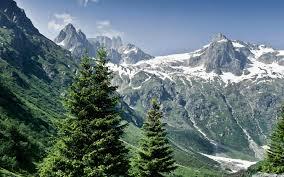 تحميل خلفيات جبال الألب 4k الجبال الصيف المنحدرات الجبلية