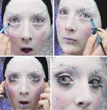 ice queen makeup tutorial whole