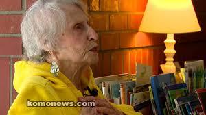Grandma Ada- 95 yr old School Volunteer- KOMO TV - YouTube