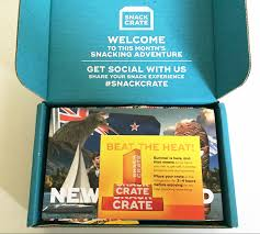 snack crate subscription box new