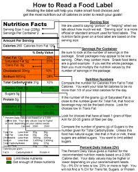 food label quiz answers va st louis