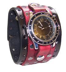 leather wrist cuff bracelet