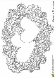 Kleurplaat Hartjes Mandala Coloring Pages Coloring Pages