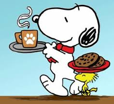 How about a nice cup of coffee and a couple of cookies? Go ahead and REWARD  yourself with one of nature's finest gifts. | Snoopy pictures, Snoopy love,  Snoopy