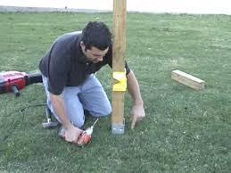 Fence Post Hole Youtube