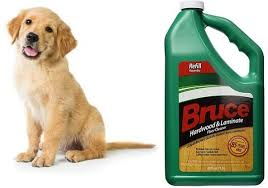 is bruce hardwood floor cleaner safe
