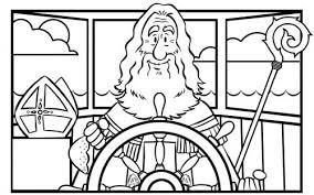 Sinterklaasjournaal Met Afbeeldingen Sinterklaas Kleurplaten
