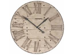 36 inch wooden wall clock