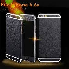 Newest Full Body Decal Glitter Back Film Sticker Case For Iphone 6 6s 4 7 6 Plus Black Pu Leather Skin Phone Protective Housing Cell Phone Cases Phone Case From Wedi011 6 74 Dhgate Com