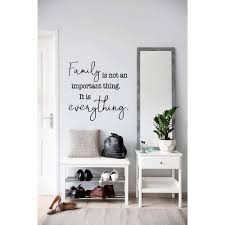 Family Is Everything Wall Decal Family Sign Farmhouse Decor Entryway Decor Family Wall Art Signs East Coast Vinyl Decals Llc