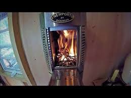 inson wood stove install in a tiny