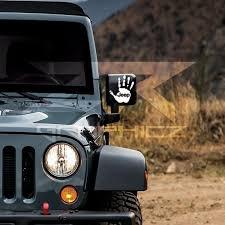 Jeep Wave Mirrors Window Bumper Vinyl Decal Sticker Xj Rubicon Wrangler Jeep Wave Jeep Black Jeep Wrangler
