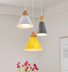 modern diy wood pendant ceiling hanging