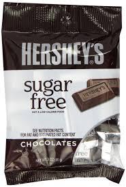 sugar free hershey s milk chocolates