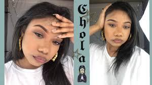 90s chola makeup tutorial you