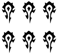 Small Horde Symbol Phone Laptop Decal Sticker World Of Warcraft Wow Se Kandy Vinyl Shop