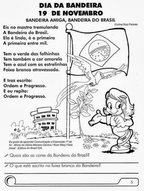 """Resultado de imagem para ATIVIDADES DIA DA BANDEIRA"""""""