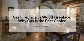 gas firepace vs wood fireplace why gas