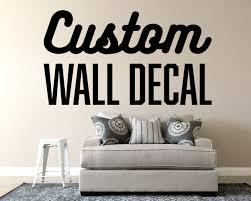 Custom Wall Vinyl Decal Make Your Own Personalized Wall Decor Vinyl Vyoletshop