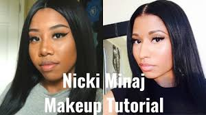 nicki minaj makeup tutorial you