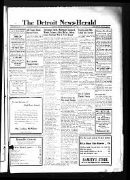 The Detroit News-Herald (Detroit, Tex.), Vol. 17, No. 17, Ed. 1 Thursday,  July 27, 1944 - Page 1 of 4 - The Portal to Texas History