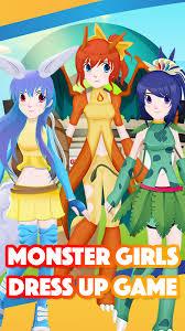 Go Anime Monster Girls Maker Dress-Up For Pokemon Free Download ...