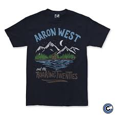 """Aaron West & The Roaring Twenties """"Mountains"""" Shirt – Cold Cuts Merch"""