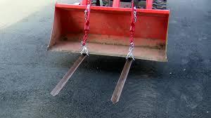 pallet forks for tractor on bx25 kubota