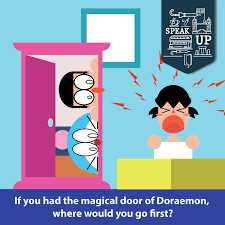 The magical items of Doraemon are always... - Wall Street English ...