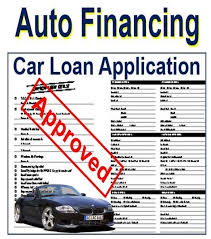 auto financing definition and meaning