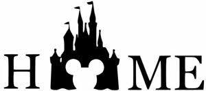 Disney Mickey Castle Home 6 Disney Funny Car Vinyl Sticker Decal 13 Colors Ebay