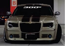 Chrysler 300 S Windshield Banner Decal Sticker Midwest Sticker Shop