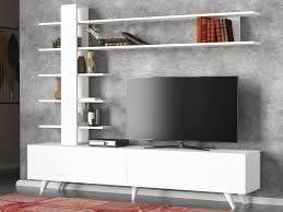 Dekorister Aleyna Tv Ünitesi Beyaz - Kapıda Ödeme - Hızlı Kargo