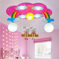 Modern Cartoon Ceiling Light Kids Bedroom Bulb Light Fittings Led Lamp For Children Room Lighting Girl S Room Pink Blue Color Lamp For Children Room Cartoon Ceiling Lightceiling Lights Kids Aliexpress