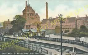 Kimberley West Railway Station Photo. Ilkeston - Watnall. Basford Line. (3)    eBay