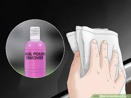 3 ways to get glue off a car wikihow