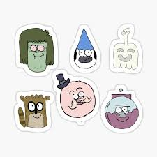 The Regular Show Stickers Redbubble