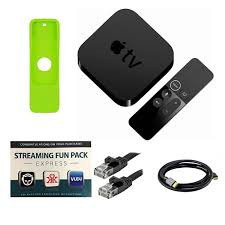 Apple TV 4K 32GB 4th Generation with Siri Remote, Silicone Sleeve, HDMI and  Ethernet Cables and Software - | Apple tv, Apple, Ethernet cable