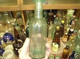wells miller & provost antique peper sauce bottle | #45576744