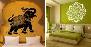 ethnic indian wall decals