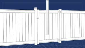 Freedom Outdoor Living Vinyl Fence Gate On Vimeo