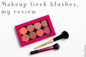 makeup geek blushes my review bonnie