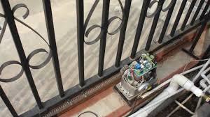 sliding gate opener installation aid