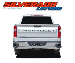 Chevrolet Inserts Letters Silverado Decals Silverado Vinyl Graphics