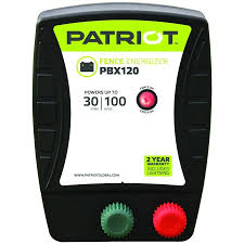Patriot Patriot Pbx120 Battery Energizer 1 2 Joule In The Electric Fence Chargers Department At Lowes Com