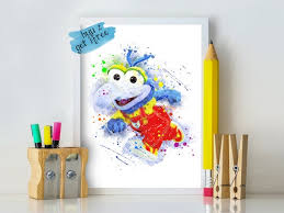 Baby Gonzo Print Gonzo Muppet Digital Poster Instant Download Etsy